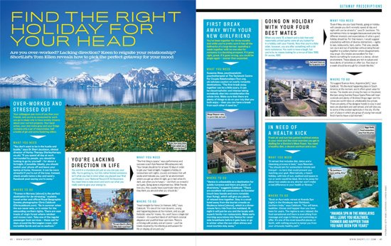 ShortList Feature: Find the Right Holiday for your Head